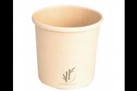 Depa soepkom bamboepapier/pe 350ml naturel 441418