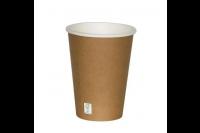 Koffiebeker fsc karton kraft 350ml ref.639