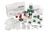 Klinion verbanddoos bhv bedrijfshulpverlening 40x28x10cm 160115 steriel