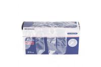 Klinion protection handschoen geruwd m 500st transparant 522102
