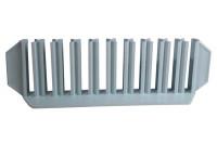 Centrifugebuisstandaard voor 1 0buizen 16mm diameter wit 21,5x5,5x6,5cm a4 130