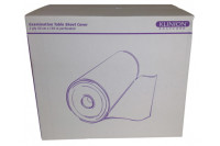 Klinion easy care rol onderzoekbankpapier 2 laags 150mx50cm wit 555050