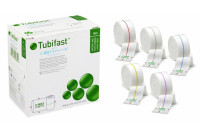 Tubifast 2way stretched fixatiebuisverband elastisch in lengte en breedte 10m x 5cm groen ref 2436-03