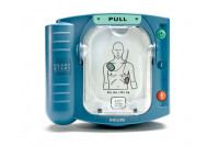 Philips aed hs1 met draagtas electroden accu m5066a