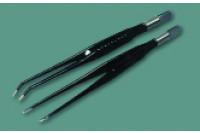 Alsatom pincet binoculaire coagulatie gebogen model 1mm tip 20cm pmc/c
