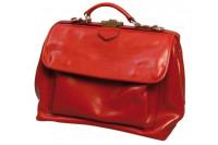 Mutsaers praktijktas citybag deluxe leer m rood 40x20x27cm 558 rood