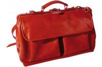 Mutsaers praktijktas citybag deluxe leer l rood 44x22x28cm 552 rood