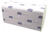 Tork papieren handdoek advanced 2 laags zigzag h3 groen 290179