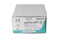 Ethicon hechtdraad mersilene m2 usp3-0 single armed fs-1 45cm wit r647h steriel