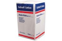 Bsn cutisoft cotton gaaskompres 12 lagen 10x10cm 72223-07