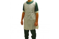 Klinion personal protection schort pe 125 x 80 cm wit 522130