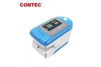 Contec pulse oximeter bluetooth blauw/wit cms50d-bt