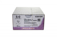 Ethicon hechtdraad vicryl rap m1 usp5-0 single armed p-3 prime 45cm transparant v4930h steriel