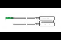 Unomedical slijmzuiger mucus-extractor met dubbele kamer, zonder filter, funnel aansluiting ch12 40 cm ref 17002182 *s*