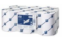 Tork papieren handdoek op rol electronic advanced 2 laags h13 wit 471110